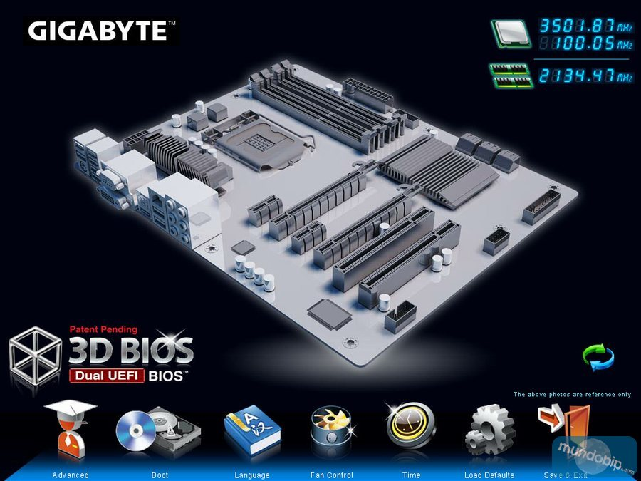 BIOS X Gigabyte GA-Z77X-UP7