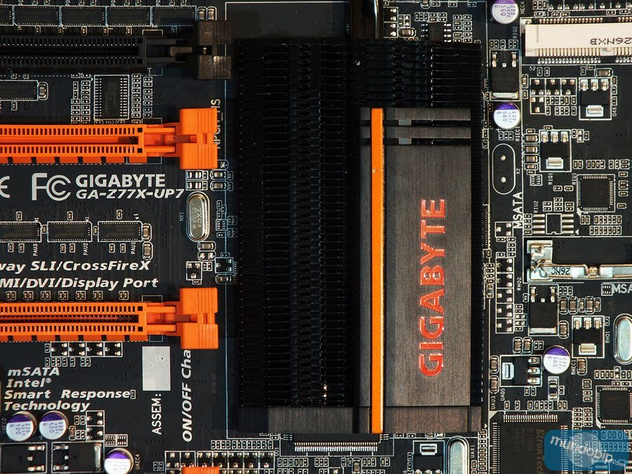 Disipador chipset Gigabyte GA-Z77X-UP7