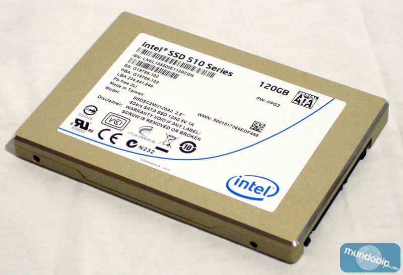 SSD Intel 510 Series de 120Gb