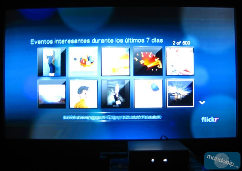 Fotos de eventos con Flickr WD TV Live