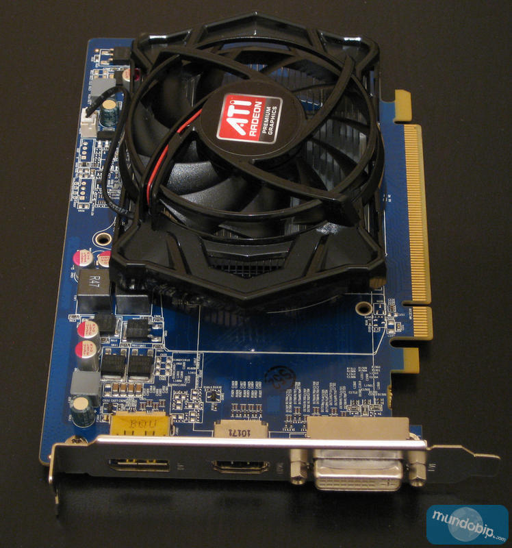 Frontal ATI Radeon HD 5550 GDDR5 512Mb