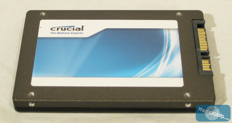 Lateral SSD Crucial m4 128Gb